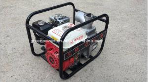 3 pouces de l'irrigation agricole Type de pompe à eau Honda l'essence