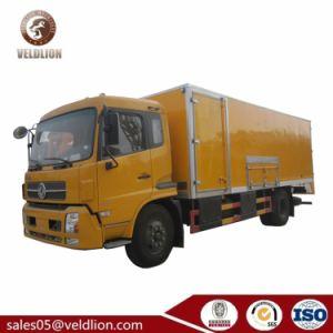 Dongfeng Explosion-Proof 15 Ton van Refrigera Van isolada 15ton Van caminhões de carga com baixo preço de venda