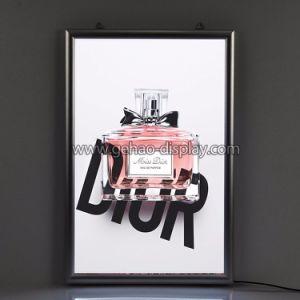 Binnen LEIDENE van het Aluminium Signage Slanke Lichte Doos