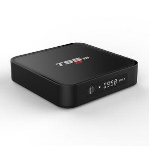 Fernsehapparat-Kasten T95 M S905X 2GB RAM/16GB ROM-gesetzter Spitzenkasten mit Digitalanzeige Kodi voll einprogrammiert Support WiFi 2.4G, BT