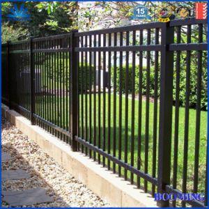 O alumínio barreira plana/Revestimento a pó a régua / régua superior/cerca para jardim/residentes/Piscina