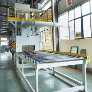 Покрытие прилипание способность H света дробеструйная очистка машины, проходят через Сварка части и металлическая пластина ролика Abrator