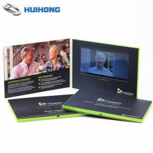 Brochura de vídeo de alta qualidade personalizada com impressão