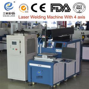 Láser de alta eficiencia Four-Shaft soldadora automática de elevación