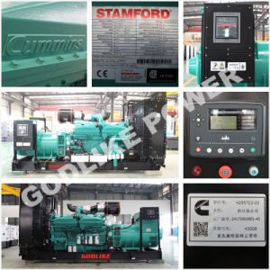 熱い販売400kVA/320kwのディーゼル発電機のCumminsの無声発電機