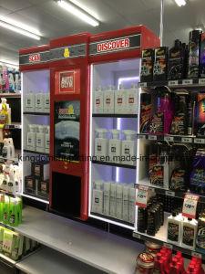 Supermarkt-Metallstandplatz-Schrank für Autopflege-Speicher