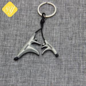 precio de fábrica de logotipo personalizado de promoción de la moda de coche Llavero de metal