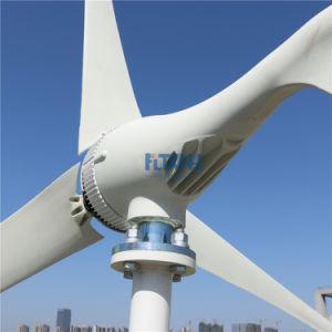 Aerogenerador de 200W 12V24V para uso doméstico, semáforo y el suministro de electricidad de yates de la estación de energía urgente con MPPT Controlador de carga