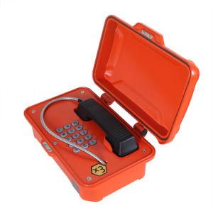 VoIP/SIP com segurança intrínseca à prova de explosão para ambiente árdua