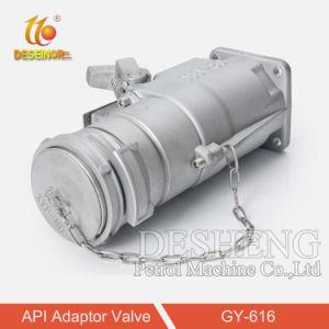 Adaptador de API de válvula para tanque de combustível