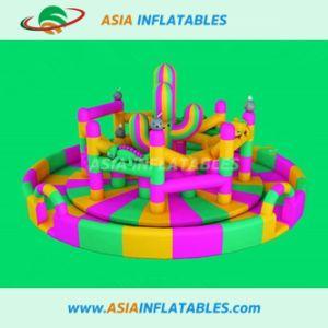 El tema de cerdo la ronda de juegos inflables, Inflables parque de diversiones al aire libre
