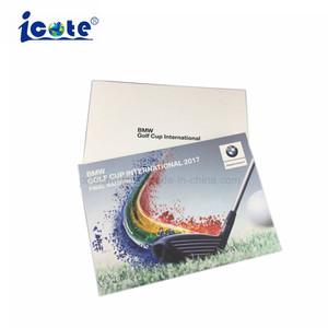 De hoogste Verkopende VideoBrochure van de Kaart van het Document van de Reclame Materiële voor Bevordering