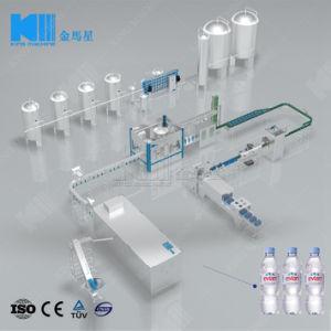 Getränkeanwendungs-automatisches Wasser-flüssige abfüllende Füllmaschine