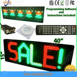 P10 для использования вне помещений монохромный красный светодиодный дисплей панели управления Digital Signage