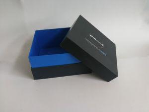 Plástico y papel rígido portátil cómodamente la Música Electrónica Caja de regalo