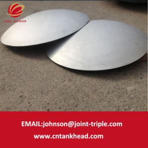 Tozirconium継ぎ目が無い管またはタンク部品のための03 02小さいステンレス鋼の球形の帽子