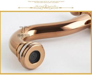 Il nuovo disegno di ceramica sceglie il rubinetto antico del bacino della maniglia (ZF-610-1)