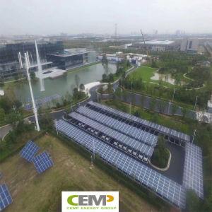 72 Células Módulo de energía solar fotovoltaica de 325 W de energía fotovoltaica y de la batería de almacenamiento de energía (PV+BESS) integración