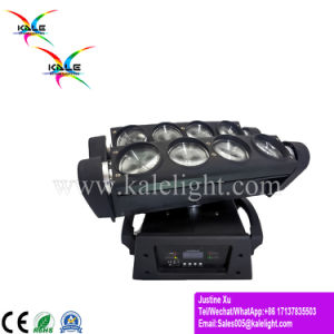 8*10W RGBW LEDの移動ヘッドくもの段階のビームライト