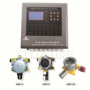 K1000-8 solide du gaz de sortie de relais du contrôleur d'alarme avec 8 canaux