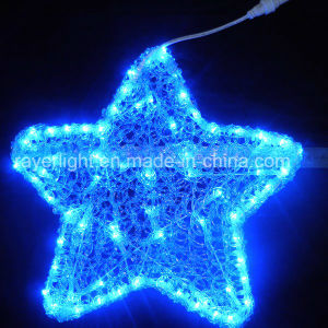 Het hangen de LEIDENE van de Decoratie van de Vakantie Buitensporige Lichten van Sterren