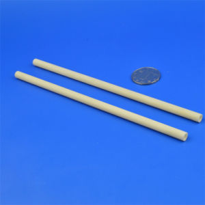 Asta cilindrica di ceramica dei cuscinetti dell'allumina a temperatura elevata Anti- di pressione Al2O3 del cilindro
