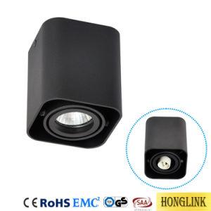 Aluminium justierbare Downlight LED Decke Downlight Oberfläche eingehangener GU10 Zylinder Downlight