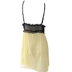 Lencería sexy elegante con delicados encajes para señoras (CS08131)