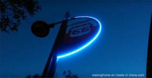 Il profilo al neon del tubo di fle led della striscia di cc 12v 24v