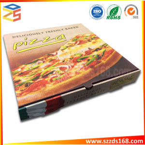 Pizza d'emballage plat escamotable pliable Food Box