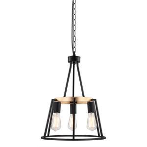 Innenweinlese-industrielle Art-hängende Lampe verzieren