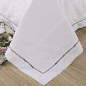 Colección de Hotel Hotel bordado blanco de tamaño completo de ropa de cama de algodón (JRD052)
