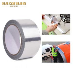 工場販売の薄いアルミホイルのガラス繊維の熱ティッシュテープ