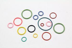 4*1.5 O anel de borracha de silicone na cor vermelha