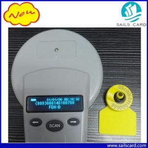 134.2kHz Animal RFID Bluetooth FDX-B/hdx Ear Tag Reader