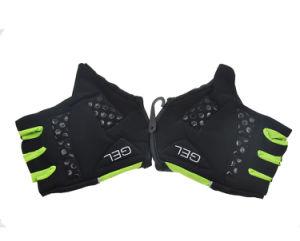 Handschoenen van de Vinger van Moto van de Fiets van de Sporten van de douane de Halve (HY17110908)