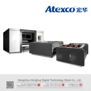 Atexco Vega3180p impresora de sublimación textil digital con 12 Kyocera el cabezal de impresión