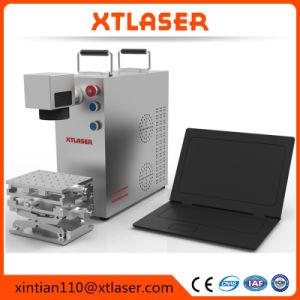 工場CNCの小型タイプ携帯用レーザーのマーキング機械