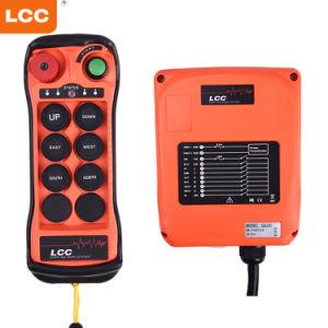 Q600 mando a distancia inalámbrico de radio Overhead Crane para cabrestante