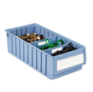 Almacén de plástico Bandeja de recogida del anaquel y verificación de la Organización de las piezas