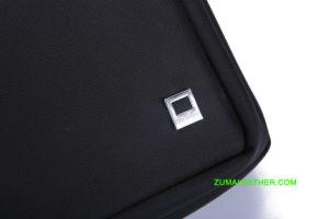 iPad Kurier-Schulter-Beutel im klassischen Entwurf mit Fächern