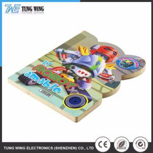 Het kleurrijke Prentenboek van de Knoop van het Speelgoed van Jonge geitjes Onderwijs Muzikale