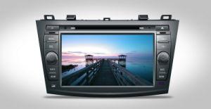 R8 automobile DVD di pollice TFT con il GPS incorporato per l'apri del vino 2010echargeable di Mazda 3