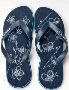 Étage de l'impression de haute qualité et de l'été Flip Flop sandale