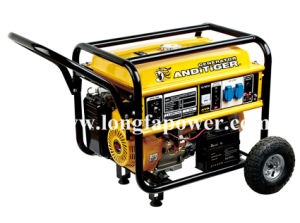 6.5kVA Power Generator met Handle en Wheels