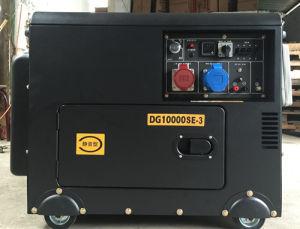 5kw stille Dubbele van de Diesel van de Macht van de Diesel Luifel van de Generator 6kw 3D Diesel Macht van de Generator 7kw Geluiddichte Dubbele Generator