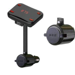Transmisor FM de la manguera con el encendedor coche reproductor de MP3