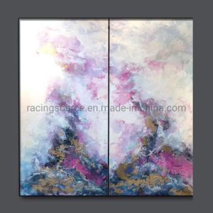 Mieux vendre toile décoration murale d'art abstrait de la peinture d'huile de la main