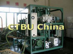 La Purificación de aceite del transformador de vacío