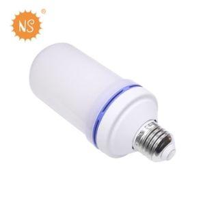 8W 100lm LED Flamme-Licht der Feuer-Effekt-Glühlampe-LED